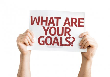 What are Your Goals? card