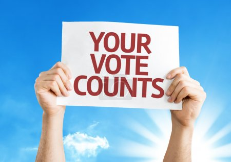 Your Vote Counts card