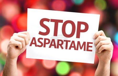 Stop Aspartame card