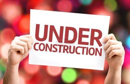 Under Construction card