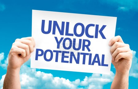 Unlock your Potential card