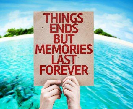 Memories Last Forever card