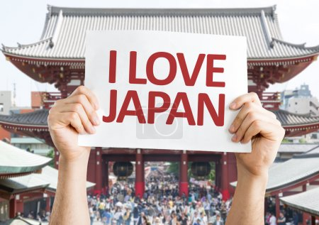 I Love Japan card