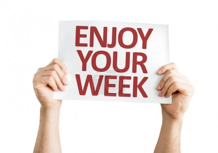 Enjoy Your Week card