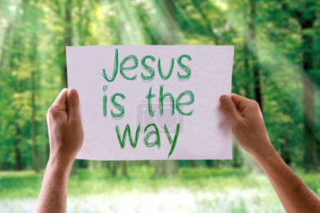 Jesus is the Way card
