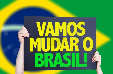 Let's Change Brazil (in Portuguese) card