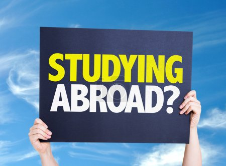 Studying Abroad? card