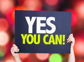Yes You Can card