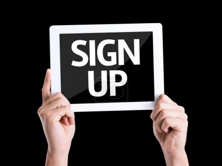 text Sign Up