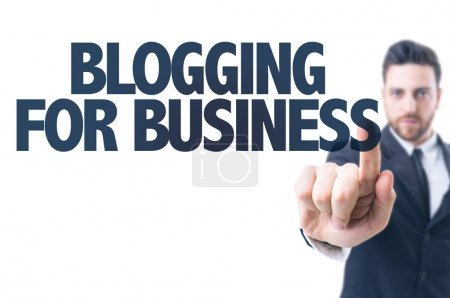Text: Blogging for Business