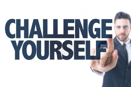 Text: Challenge Yourself