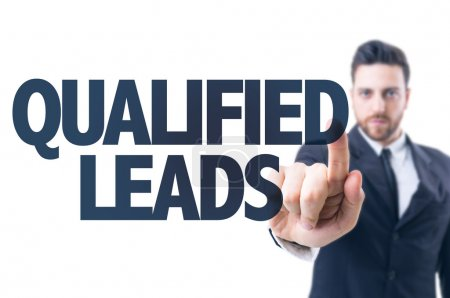 Text: Qualified Leads