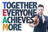Text: Together Everyone Achieves More