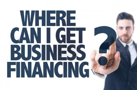 Text: Where Can I Get Business Financing?