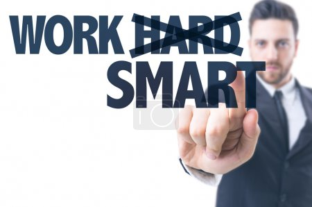 Text: Work Smart