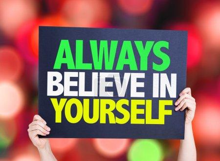 Always Believe in Yourself card