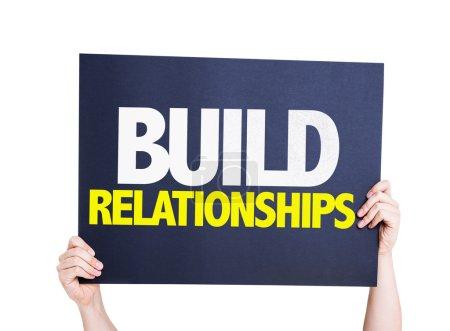 Build Relationships card