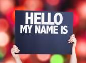 Dobrý den, mé jméno je karta