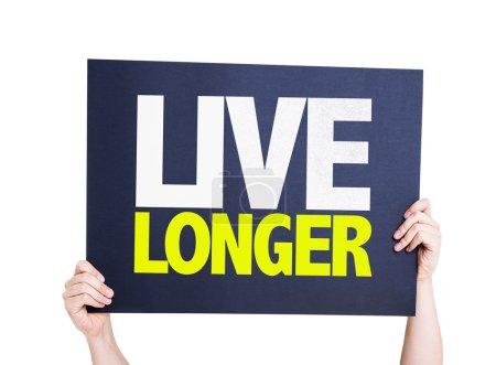 Tarjeta Live Longer