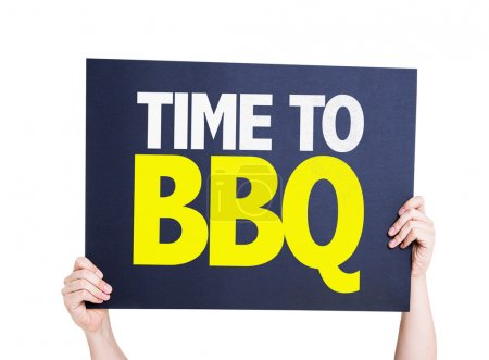 Time To BBQ card