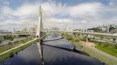 Estaiada Bridge in Sao Paulo