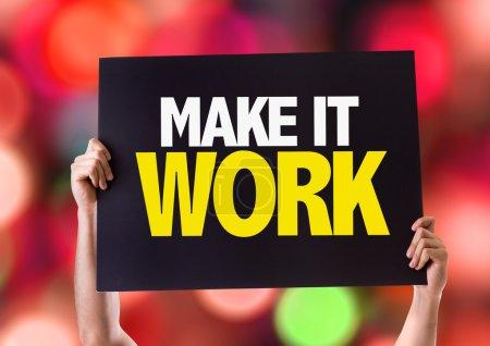 Make It Work card