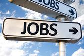 Pracovní místa směrem znamení