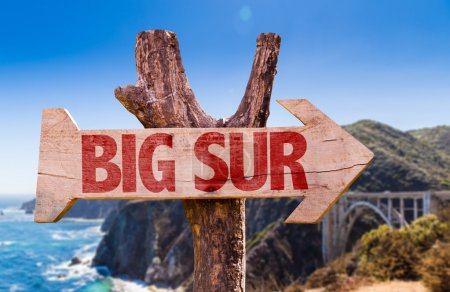 Big Sur wooden sign