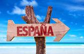 Spanien aus Holz unterschreiben