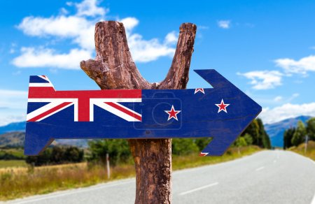 New Zealand Flag sign