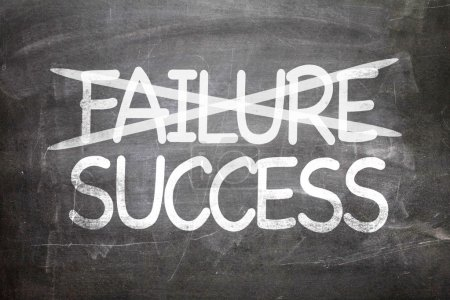 Failure and Success written