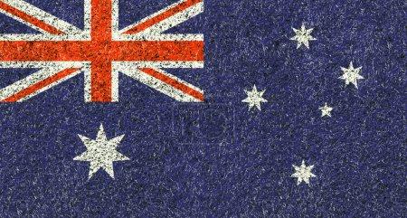 Australia flag texture