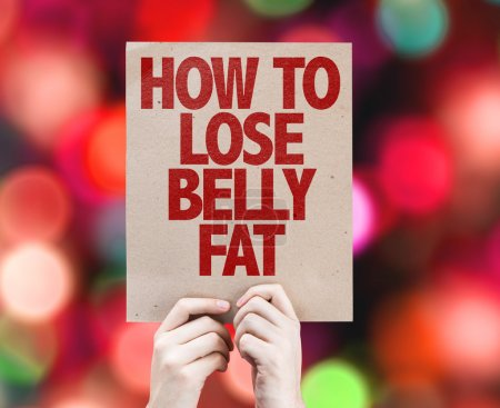 How To Lose Belly Fat card