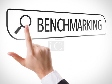 Benchmarking written in search bar