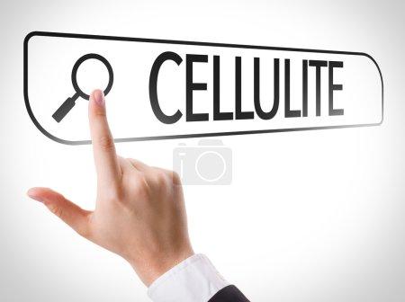 Cellulite written in search bar