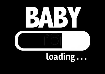 Bar Loading with the text: Baby