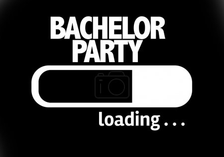 Bar Loading with the text: Bachelor Party
