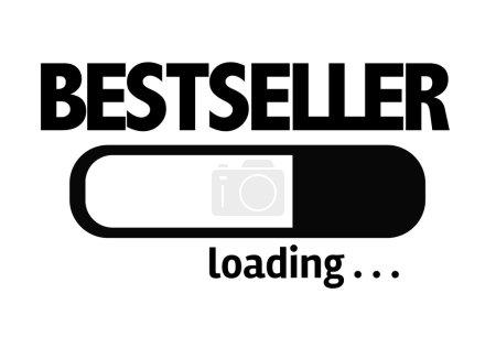 Photo pour Progress Bar de chargement avec le texte : Bestseller - image libre de droit