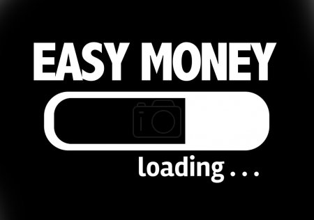 Bar Loading with the text: Easy Money