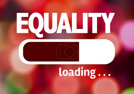 Bar Loading with the text: Equality