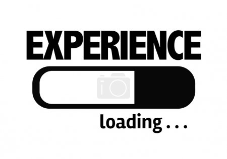 Bar Loading with the text: Experience
