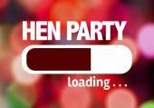 Načítání bar s textem: Hen Party