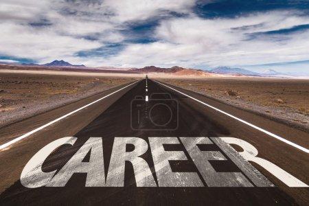 Career on desert road