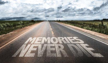 Memories Never Die on rural road