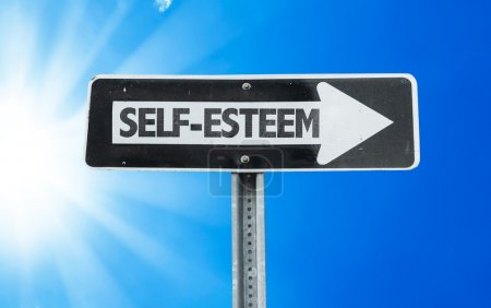 Self-Esteem direction sign