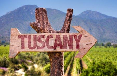 Panneau en bois Tuscany