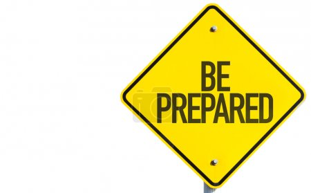 Be Prepared sign