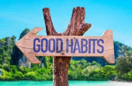 Good Habits arrow