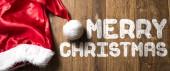 Veselé Vánoce na dřevěné