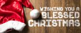 Přeji vám požehnané Vánoce